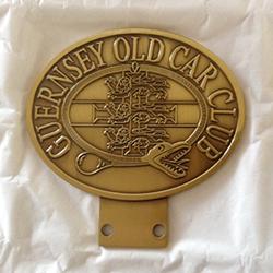 Antiqued Metal Car Badge - £30